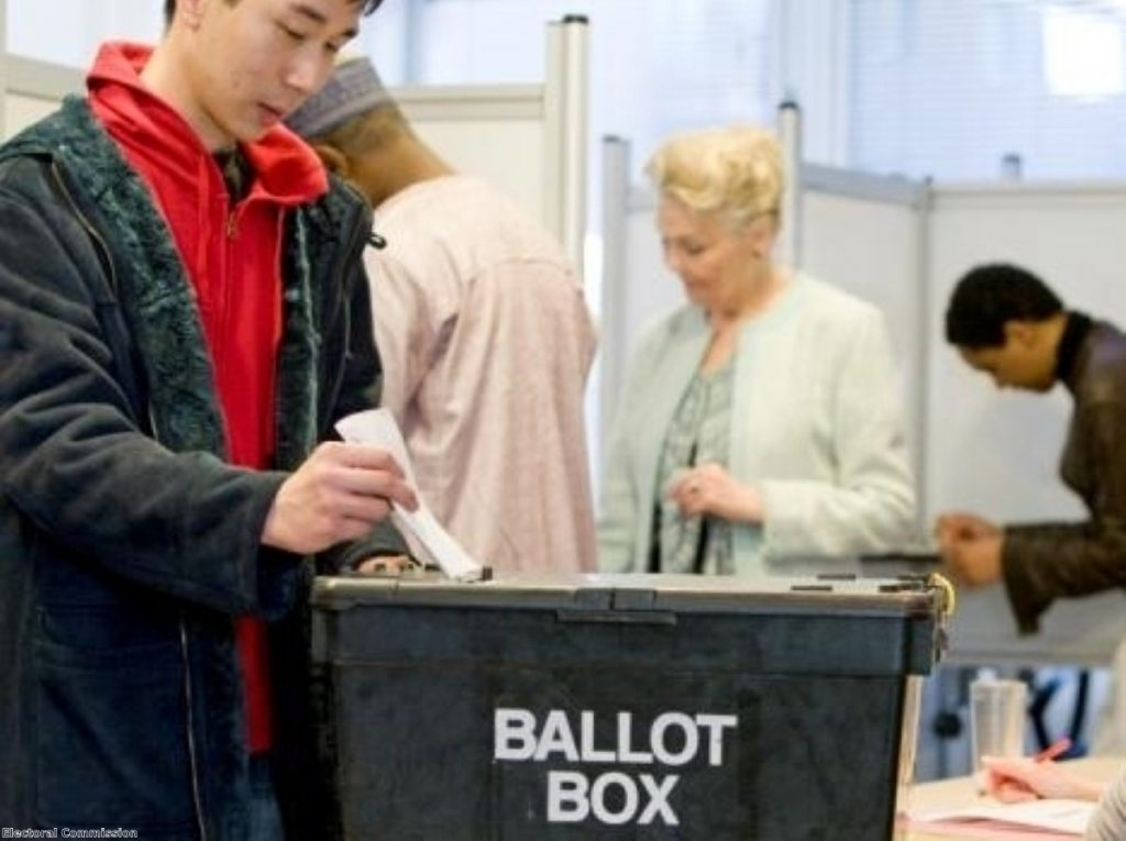 The move to electronic voting looks good for democracy - and for business, too