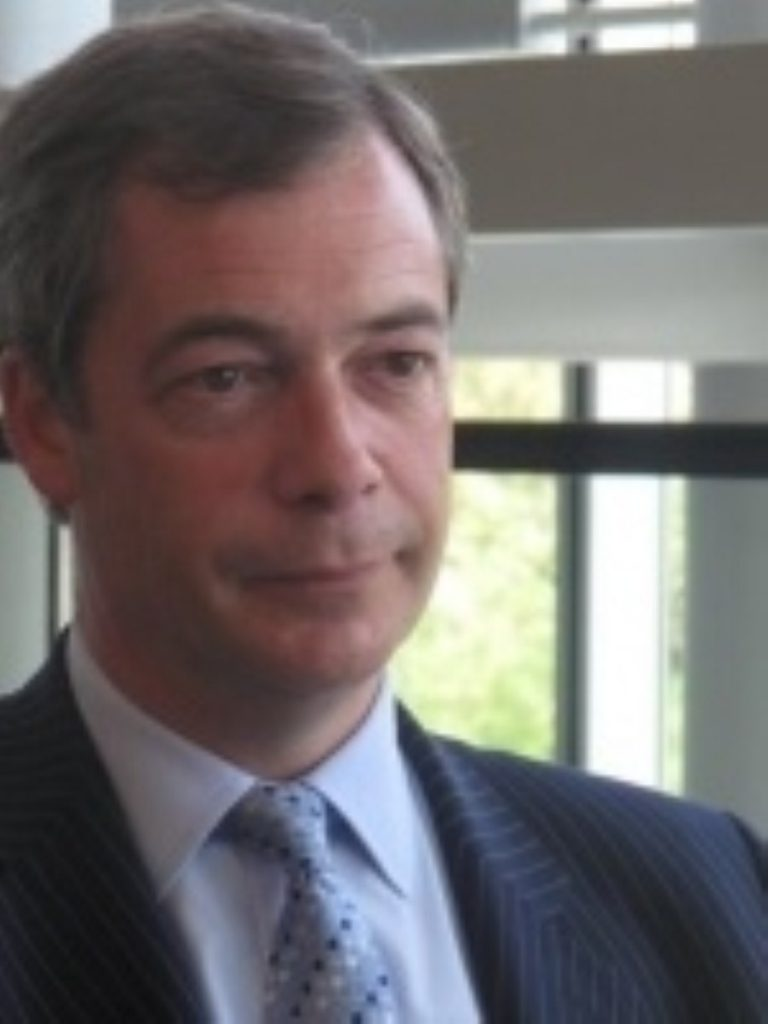 Farage: The wave recedes?