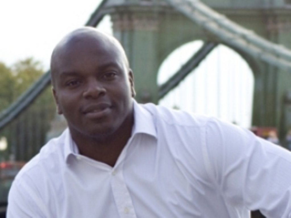 Shaun Bailey, one of a new breed of Tory candidate, who didn't win in Hammersmith
