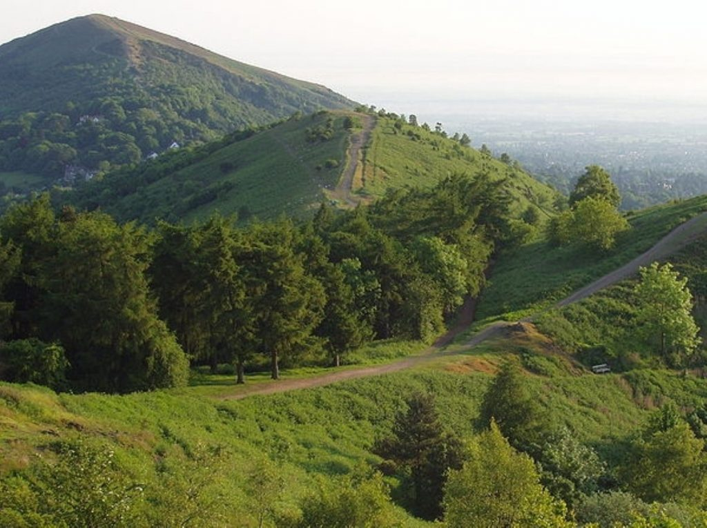 The Malvern Hills: Not such a green and pleasant land any more