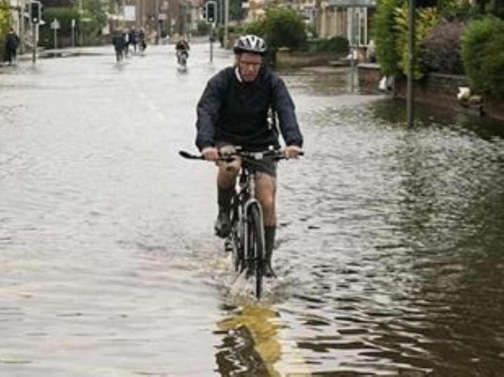 People should start preparing themselves for more extreme weather events, warns the government