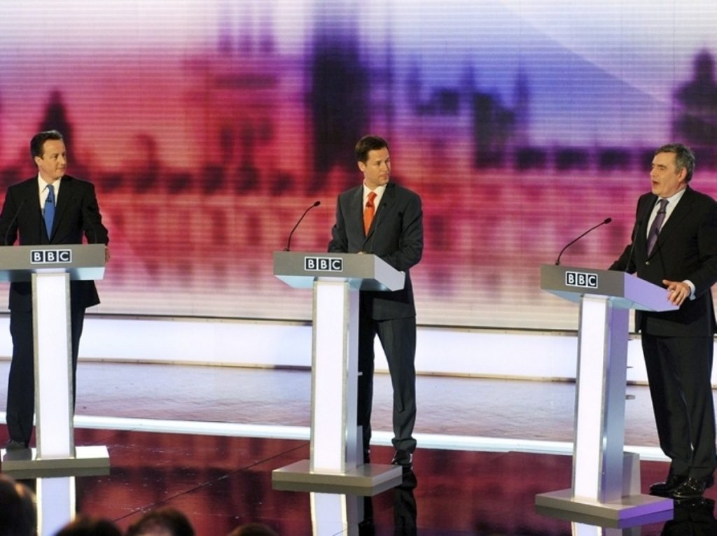 Britain's three potential prime ministers clashed on various economic issues tonight