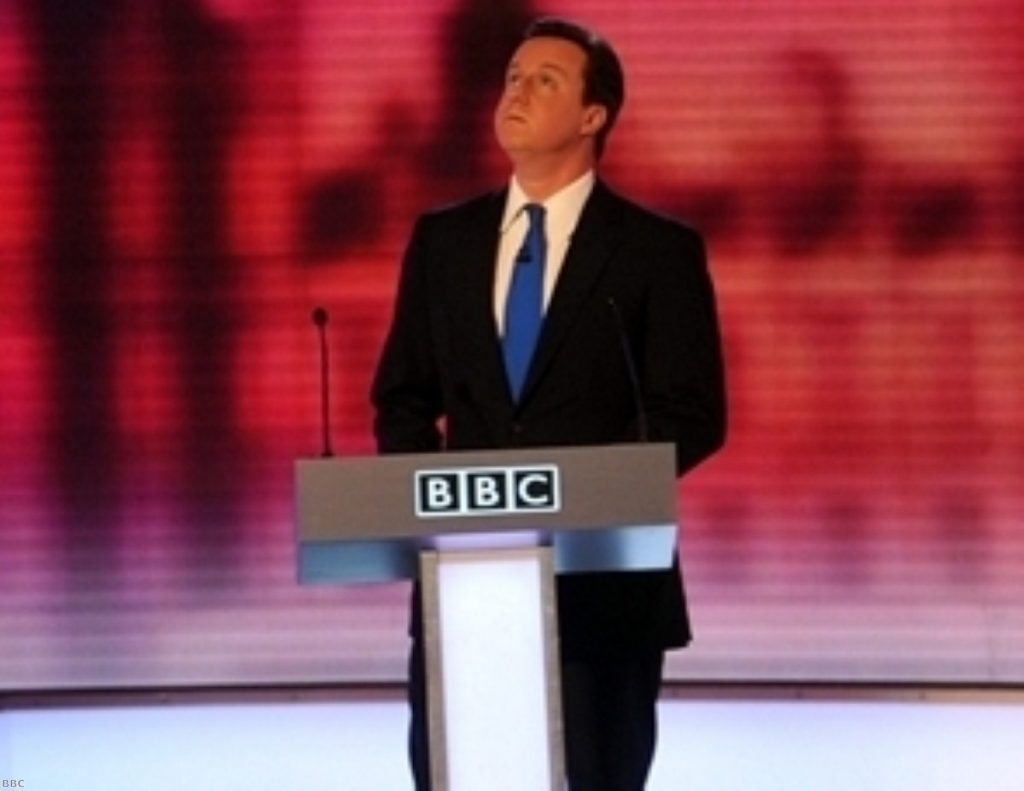 David Cameron was outshone by the man who was about to become his deputy prime minister in the leaders' debates