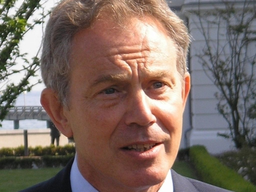 Tony Blair joined calls against tactical voting