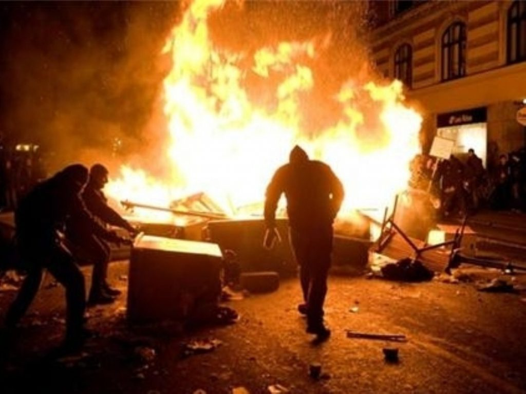 Ukip candidate for City of London and Westminster predicts riots