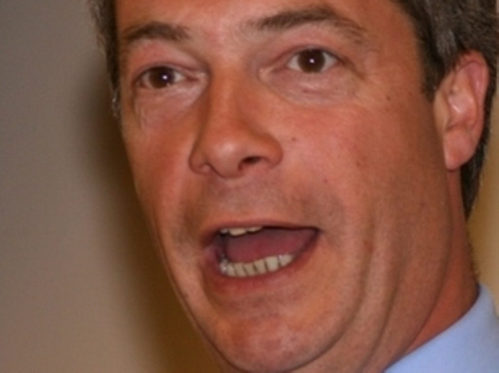 Farage: Entitled to his lunchtime pint
