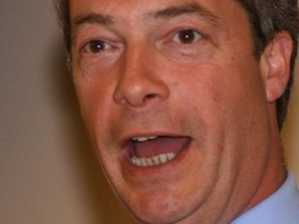 Nigel Farage is not the most popular man in Belgium