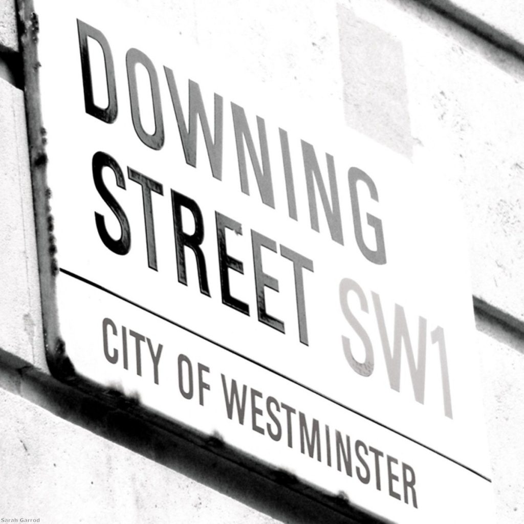Downing Street released the communication this afternoon.