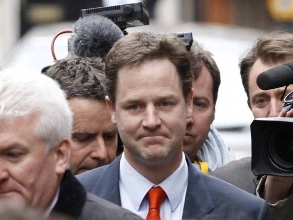 Clegg: We give ourselves the chance to shape outcomes