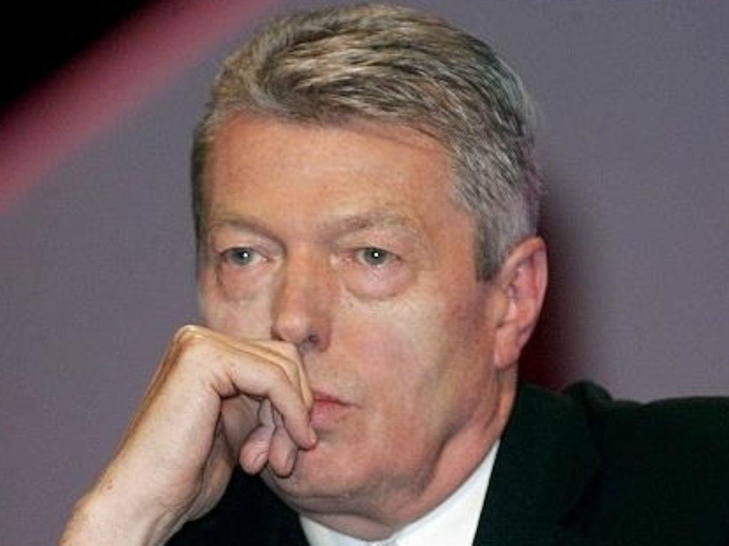 Alan Johnson considers life on the sidelines