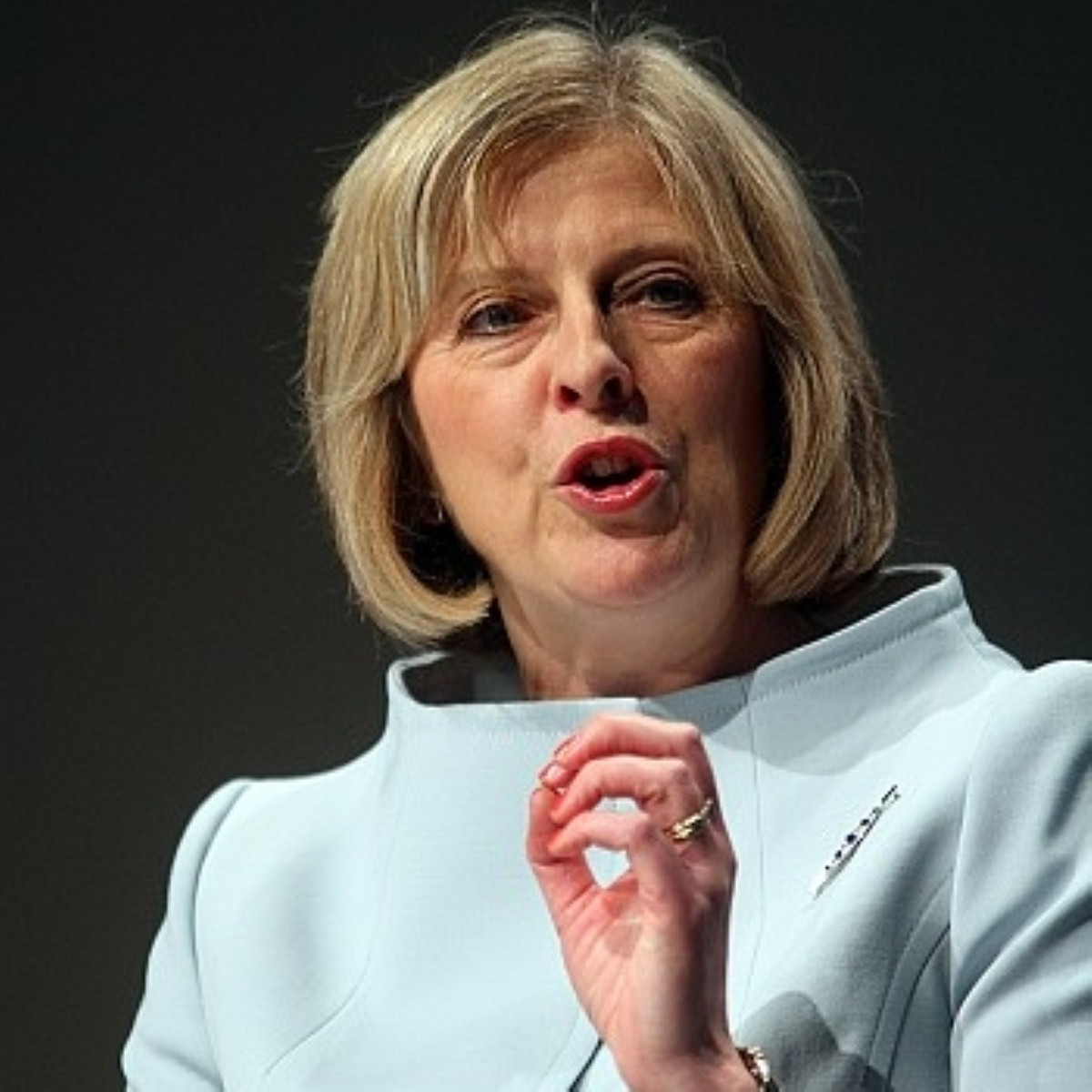 May: 'It's only natural that at times like this we ask who polices the police'.