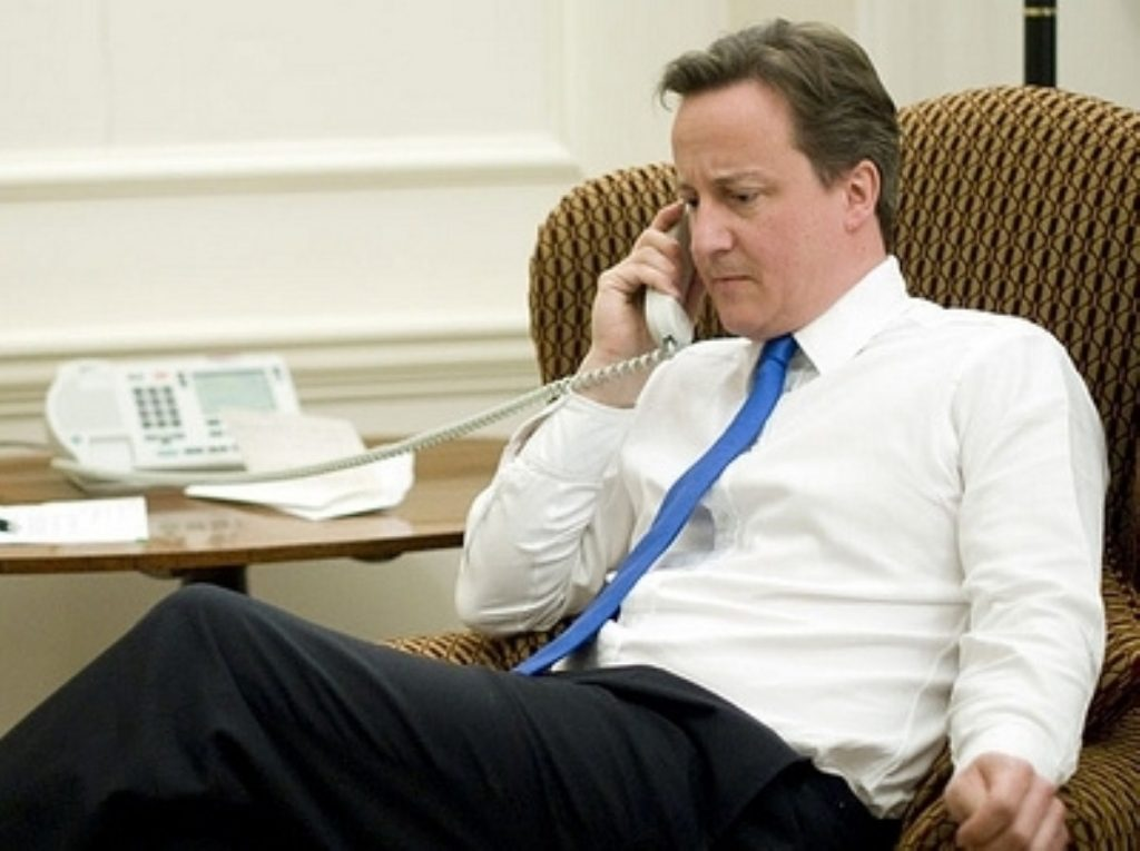Plotters: The rumours against Cameron could get more serious unless there is a recovery in the polls and the economy