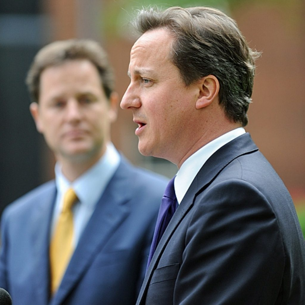Divided: Cameron and Clegg recall their deal differently