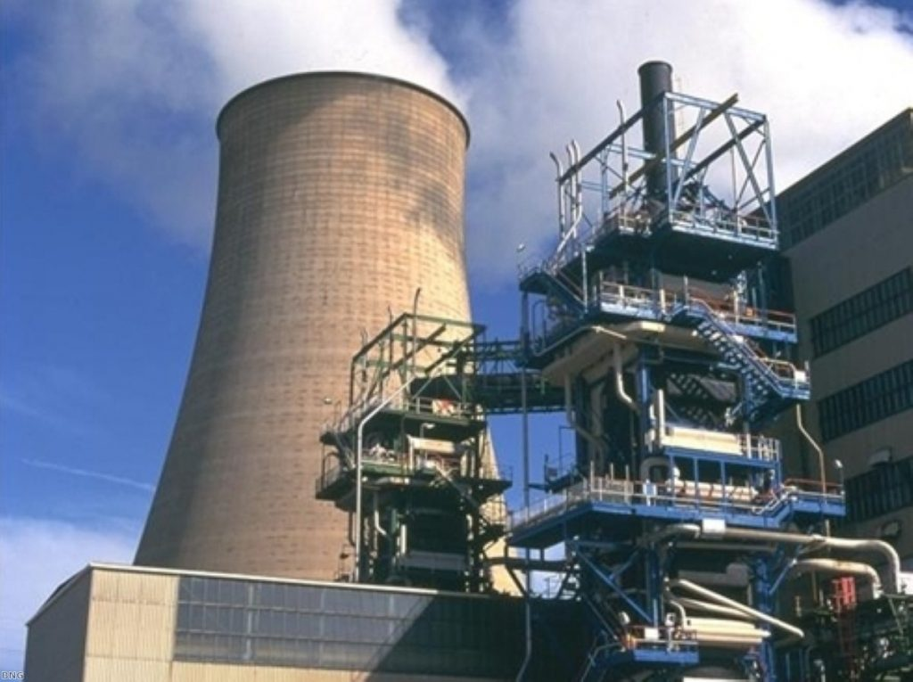 Calder Hall nuclear power station. The Lib Dems are opposed to nuclear power.