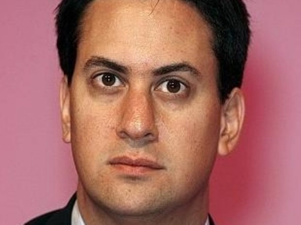 Ed Miliband offered a mastercall in being aggrieved