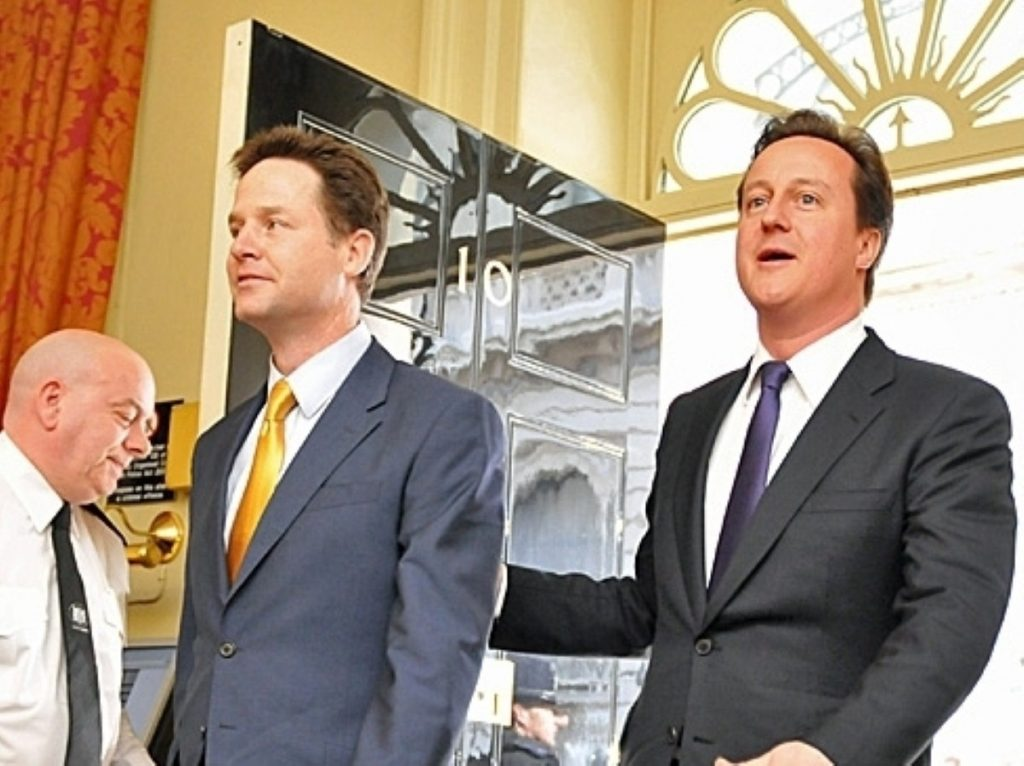 Nick Clegg and David Cameron have much work to do to save the coalition