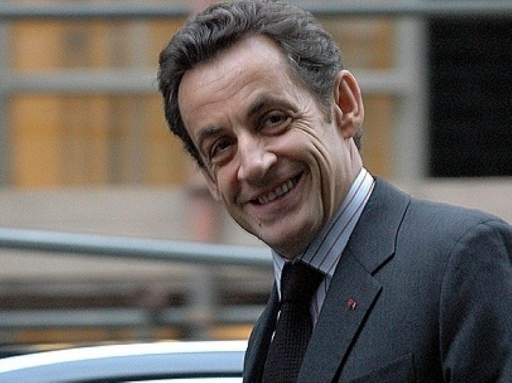 Sarkozy met with Cameron last night