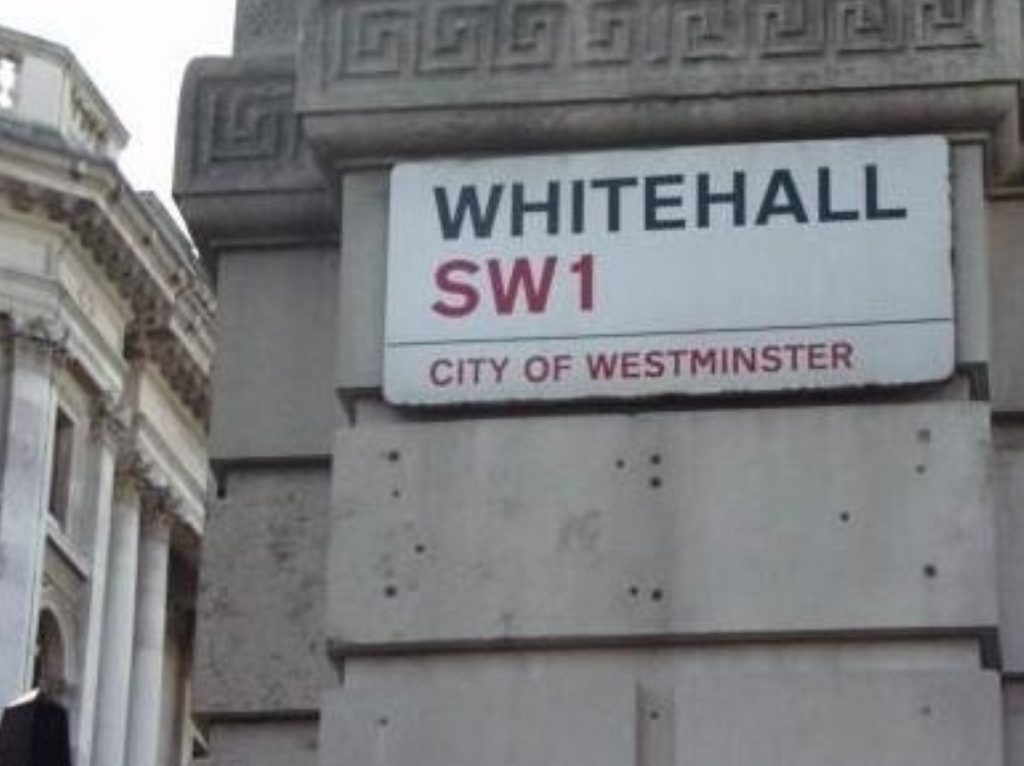 Reforms needed rapidly on Whitehall