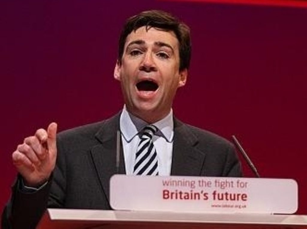 Andy Burnham still believes he is in with a chance of leading the Labour party