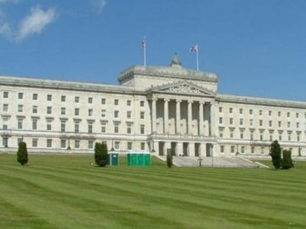 Stormont has heavily criticised the response of Northern Ireland Water