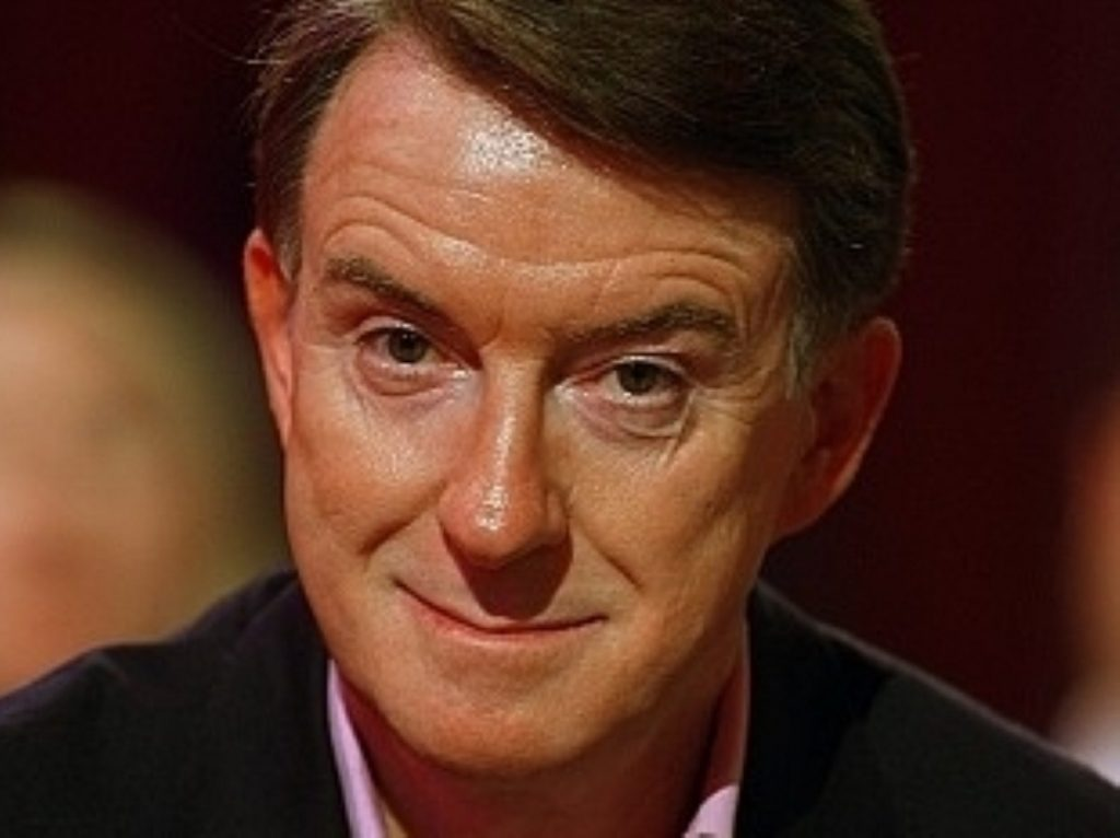 Mandelson: 'The Tories are going to win'