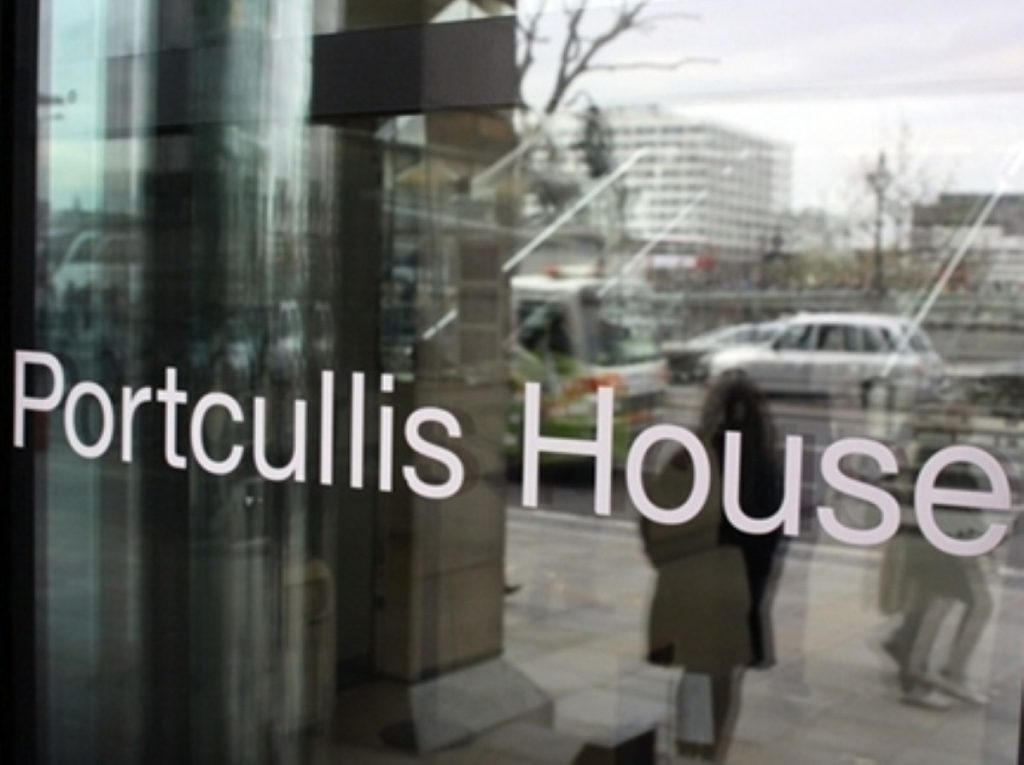 Portcullis House,where many MPs have their offices, is rife with expenses discontent