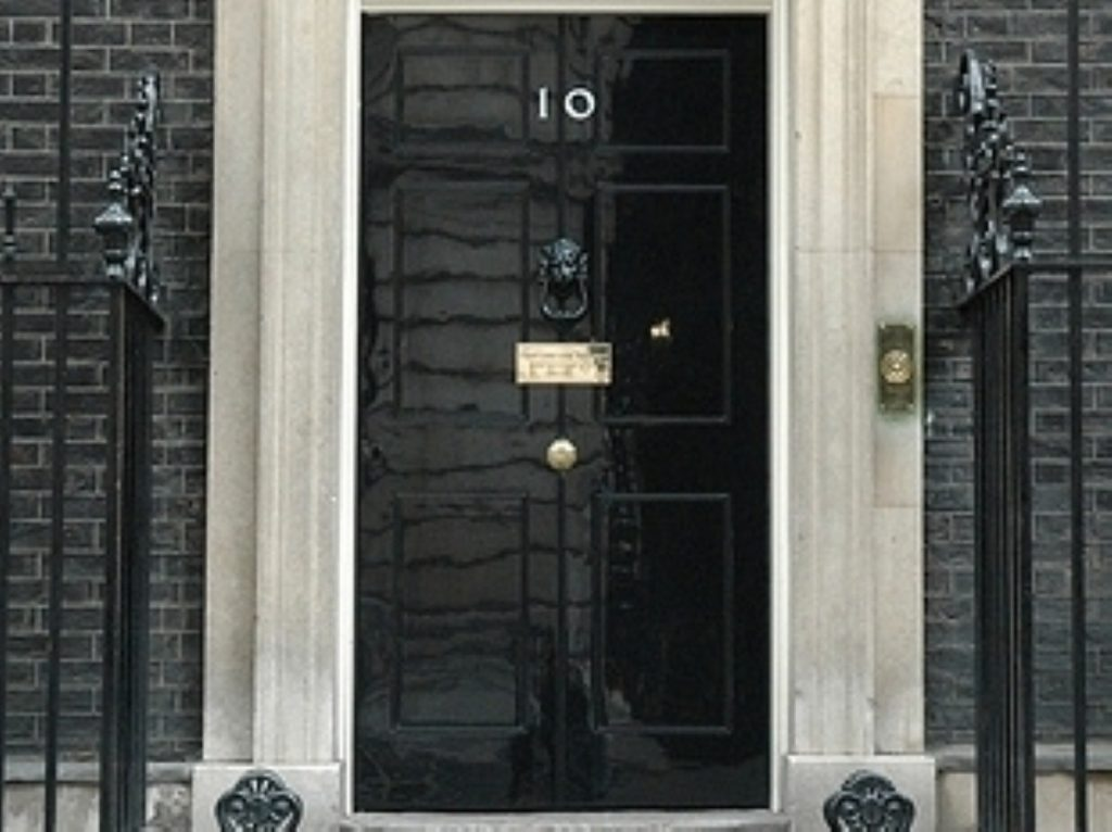 The PM is finally moving into No 10