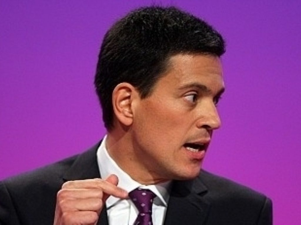 David Miliband is taking time away from frontbench politics