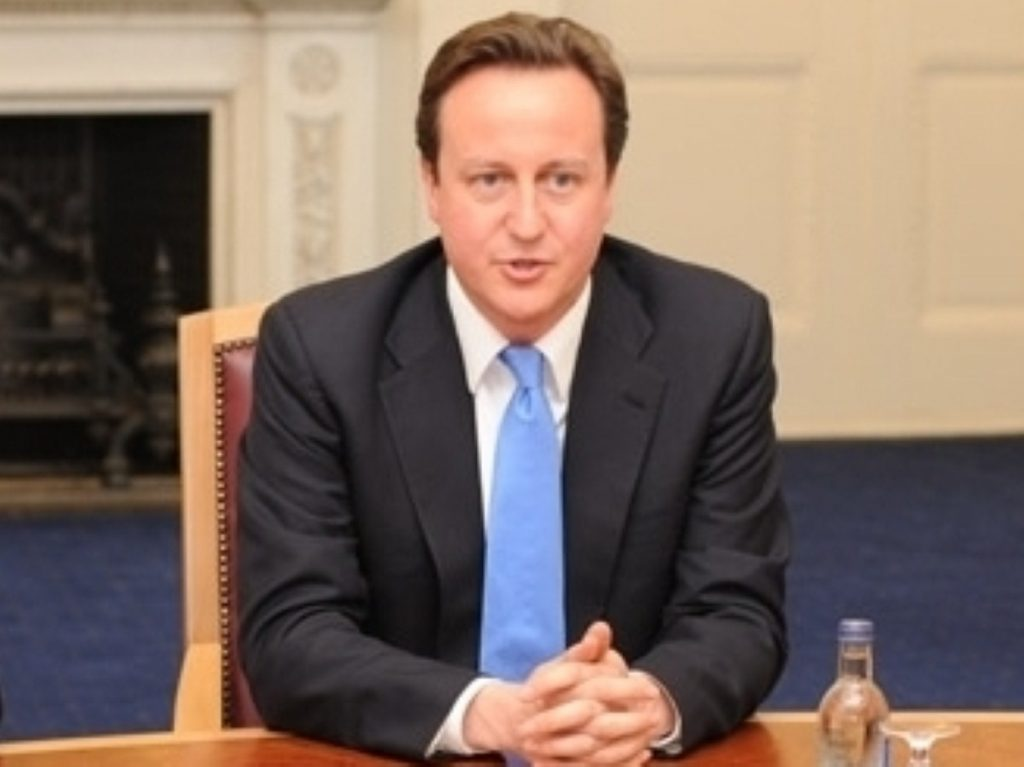 The main threat to the coalition comes from Cameron's own backbenchers