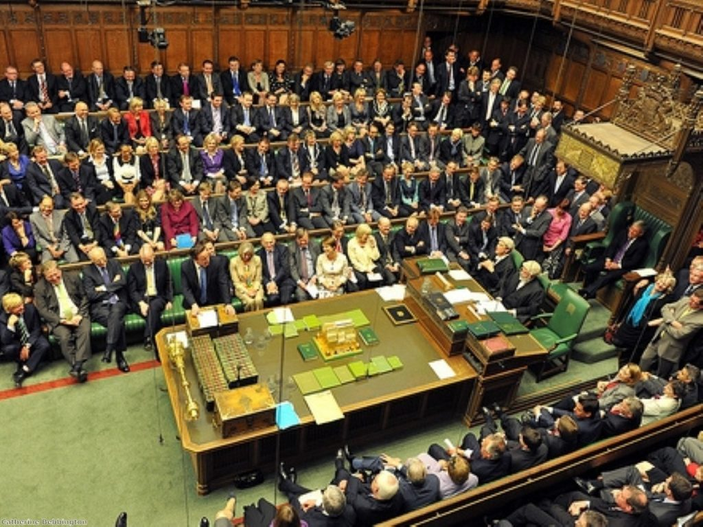A moment of bonding across the despatch boxes?