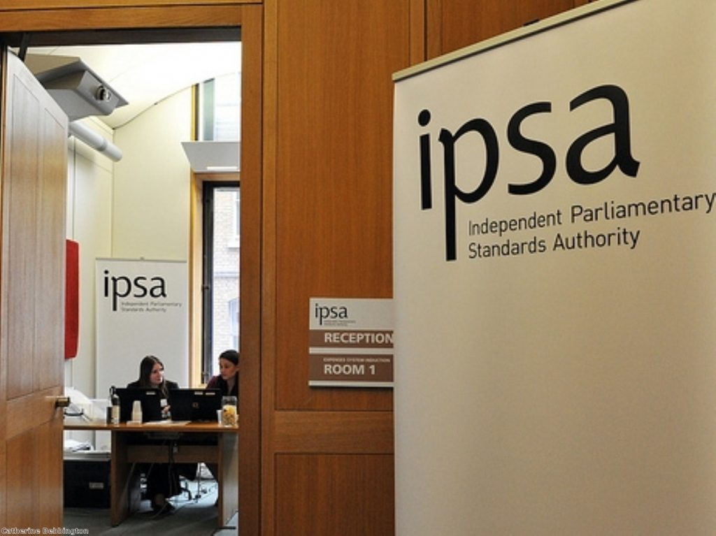 Ipsa has come under fire for its new expenses regime