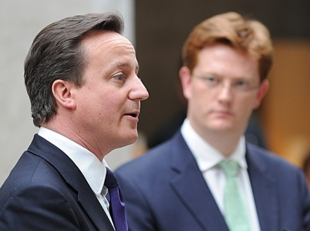 Danny Alexander issues implicit criticism of prime minister David Cameron