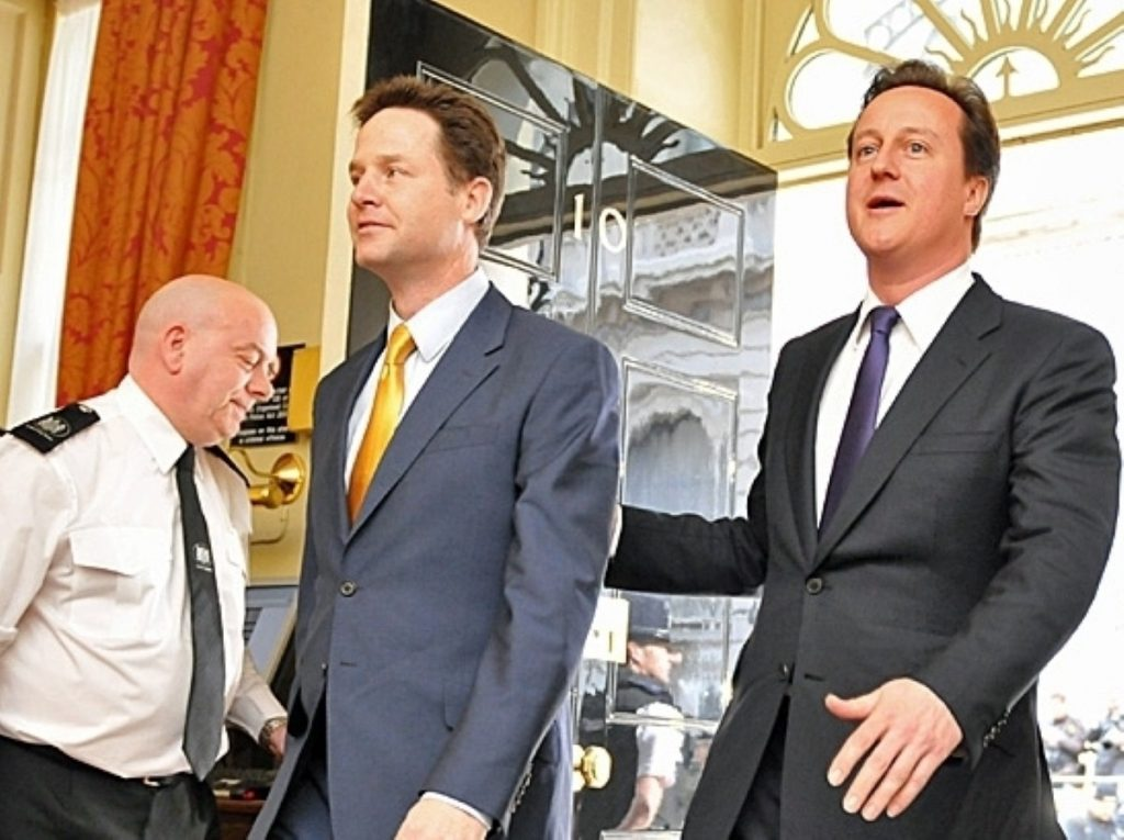 Nick Clegg has come a long way since entering govt