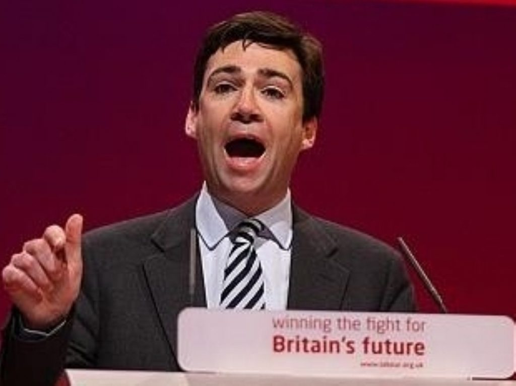 Burnham: 'We were in the thrall of big business'