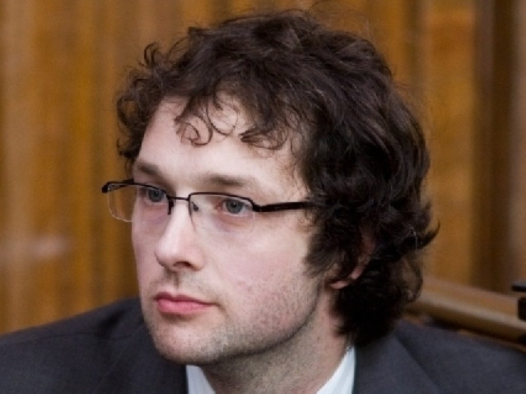 Chris Addison plays Ollie in the The Thick Of It