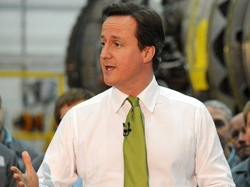David Cameron struck an optimistic note ahead of the Tory party conference.