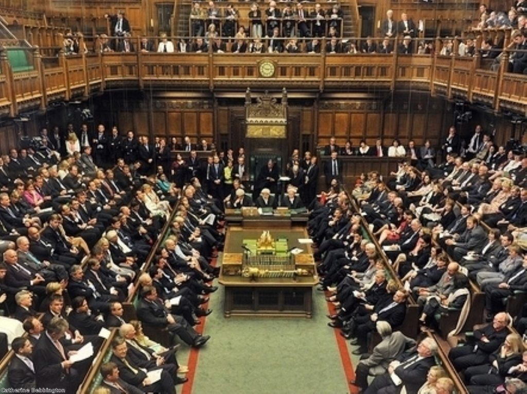 Turbulent exchanges in the Commons over party funding