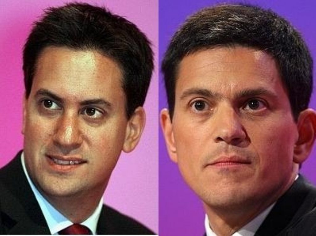 No team-up in the shadow chancellor role: Ed Miliband kills off hopes of giving his brother the job