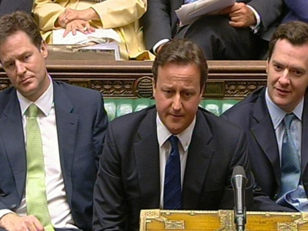 David Cameron appeared at a loss in this week's prime minister's questions