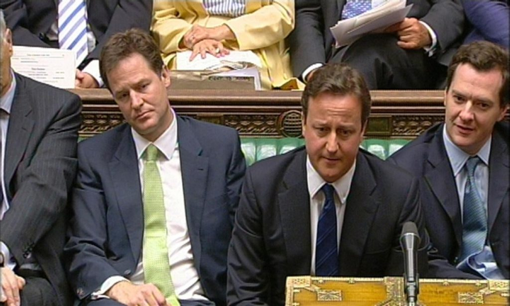David Cameron in withering mode