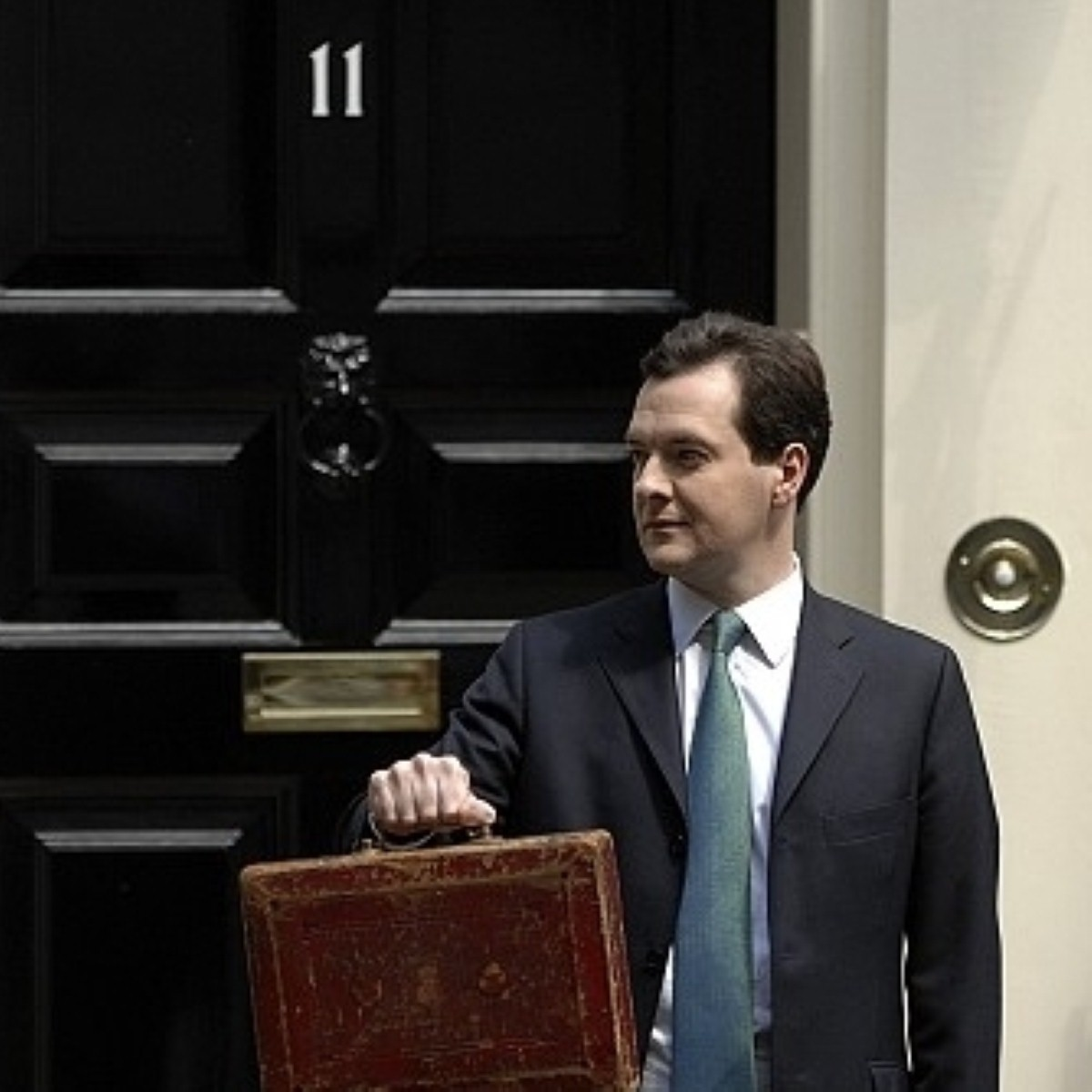 Relief for George Osborne ahead of next month's budget