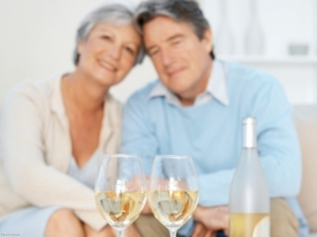 Time to hit the booze? State retirement age on the way up.