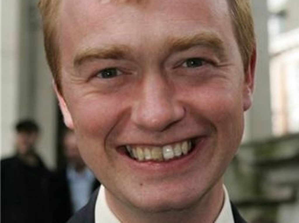 Tim Farron said first-past-the-post had given Margaret Thatcher a `veneer of legitimacy`.