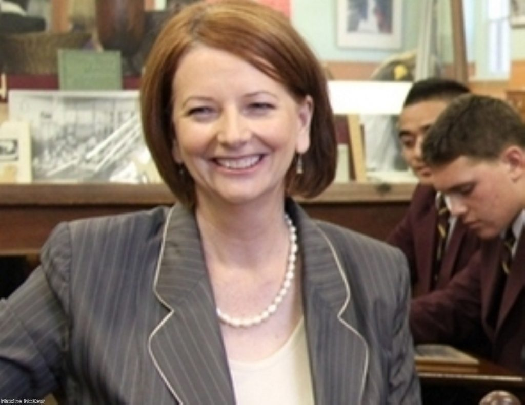 Julie Gillard: Australia's first PM managed three years in office.