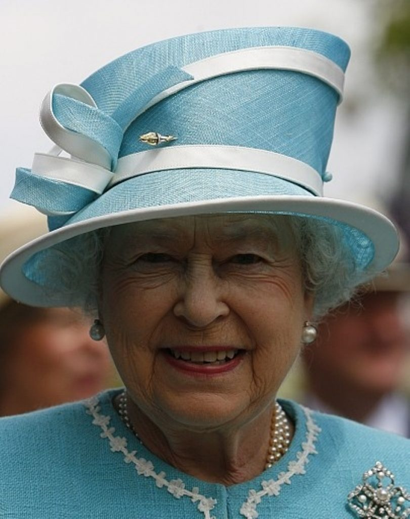 "The Queen ""purred down the line"""