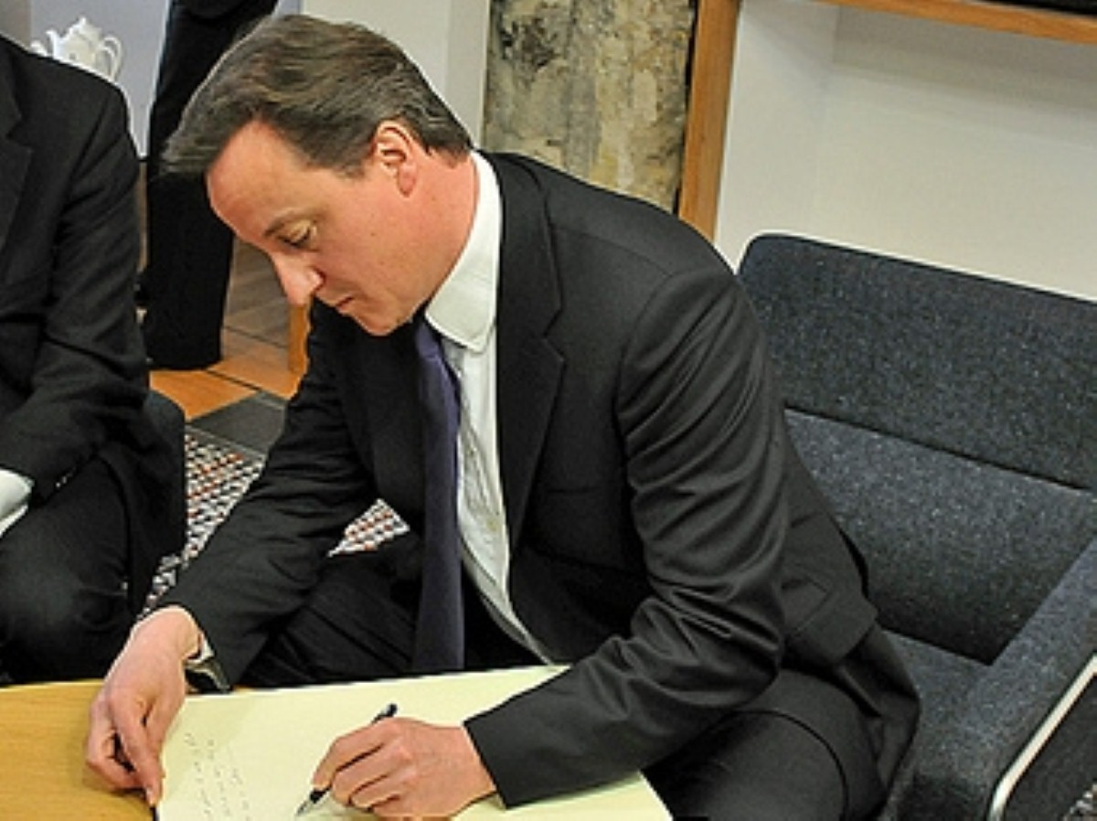 David Cameron to address his party conference today