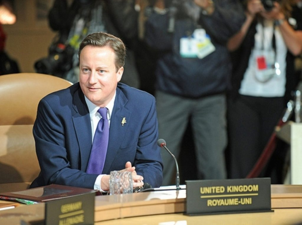 Cameron's support all-but ensures Mr Clarke's reforms will go ahead