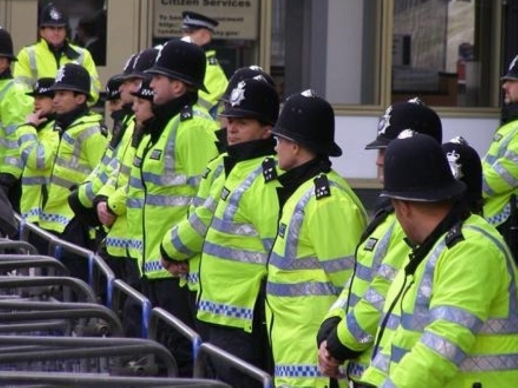 Police ready to block Leicester march
