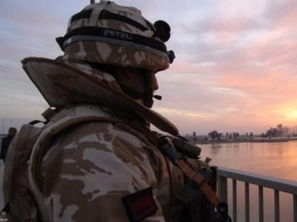 Sun setting... on Britain's war-fighting capability?