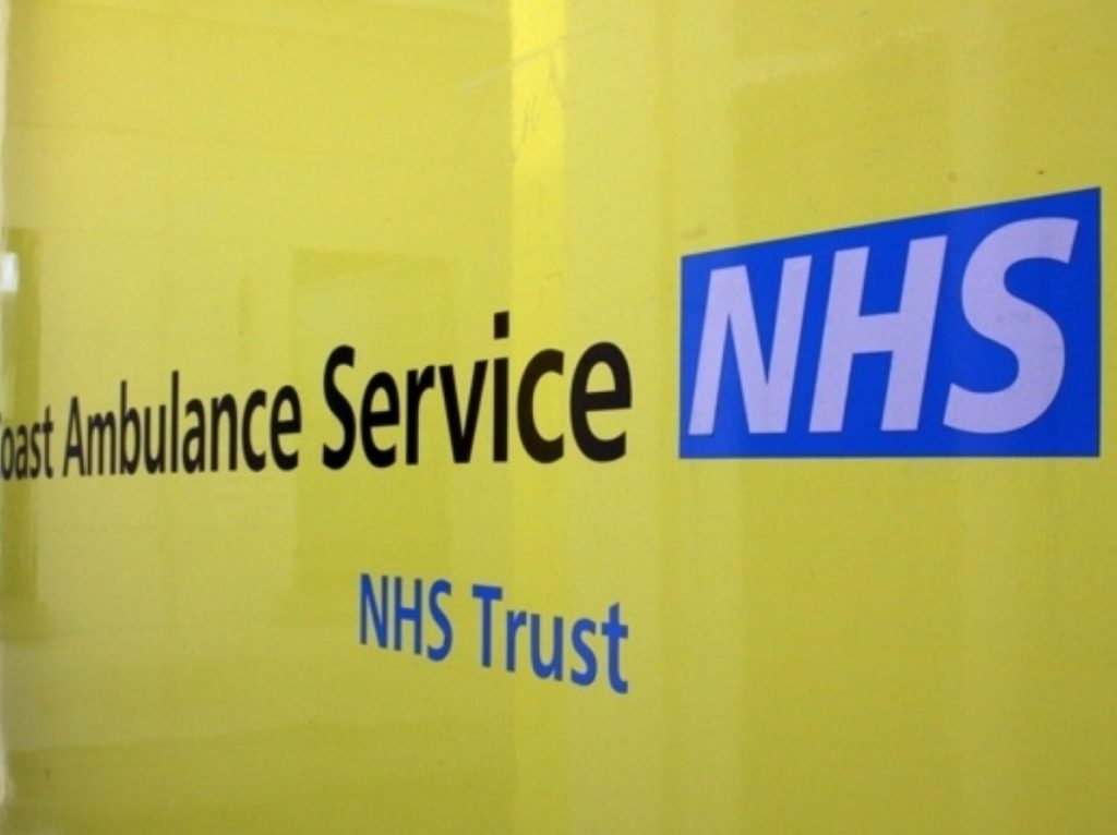 Lansley's NHS reforms have angered many unions and Labour politicans